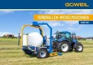 Gezogene Rundballen Wickelmaschinen | Serie 50 | Göweil