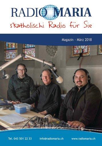 Radio Maria Schweiz - März 2018