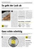 Gelb. Die Kundenzeitung von Klingspor - Ausgabe 1|2018 - Page 6