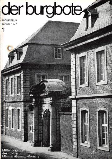 Der Burgbote 1977 (Jahrgang 57)