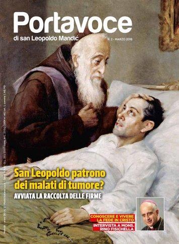 PORTAVOCE DI SAN LEOPOLDO MANDIC - marzo 2018