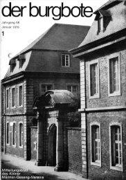 Der Burgbote 1978 (Jahrgang 58)