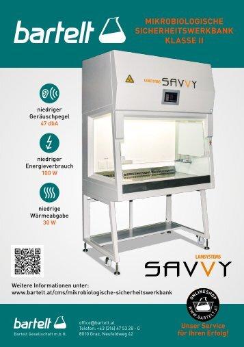 Lamsystems-Savvy-Mikrobiologische-Sicherheitswerkbank-Aktion