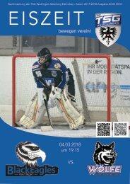 TSG Black Eagles vs Wölfe Freiburg 04032018