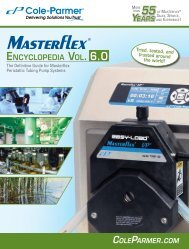 Masterflex catalogue