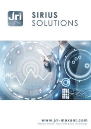 Catalogue SIRIUS Solutions 2017