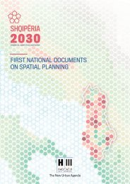 First National Documents on Spatial Planning in Albania