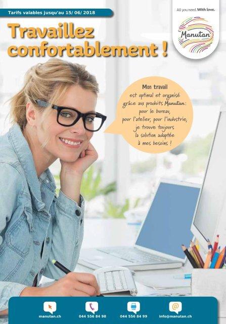 Travaillez confortablement !