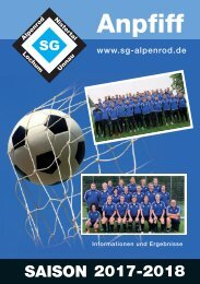SG Alpenrod - Anpfiff 11-2017