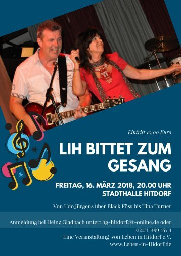 Plakat Gabi&Peter
