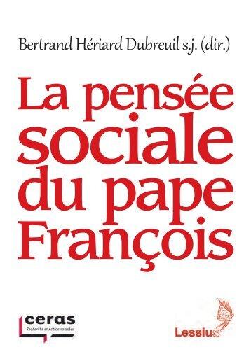 La pensée sociale du pape François
