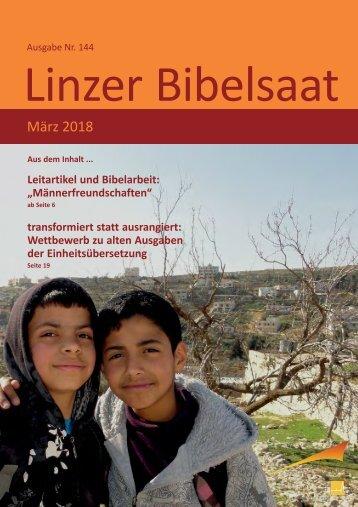 Linzer Bibelsaat (März 2018)