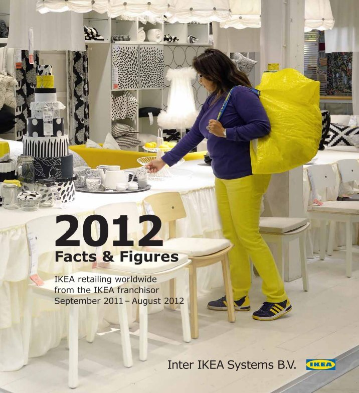 ikea welcome inside Welcome inside read about ikea group's achievements during the year together with our financial result.