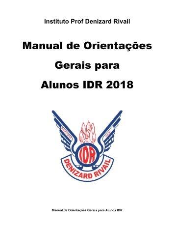 Manual de Procedimentos Disciplinares 2018