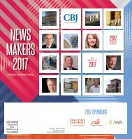 CBJ Newsmakers 2018