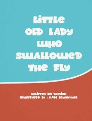 Little Old Lady who swallowed the fly