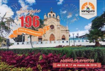 Agenda de Eventos Saraguro 2018