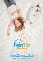 Programmheft Haustiermesse Hamburg 2018