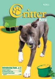Critter Magazine, Knoxville - March 2018