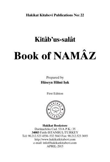 Book of Namaz
