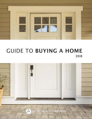 Accel Realty Partners Home Buyer Handbook 2018