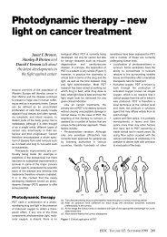 Photodynamic therapy – new light on cancer ... - LumaCare.com