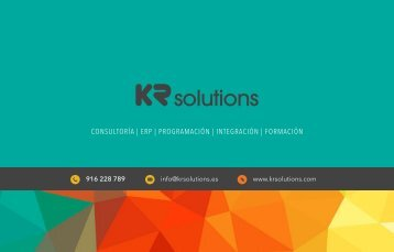 KRSolutions | Servicios de consultoría informática