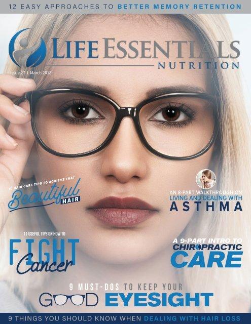 Life Essentials Magazine March 2018