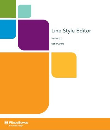 Using the Line Style Editor - Product Documentation - MapInfo