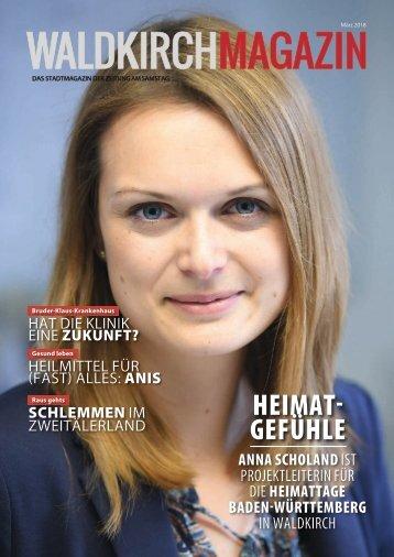Waldkirch Magazin (März 2018)
