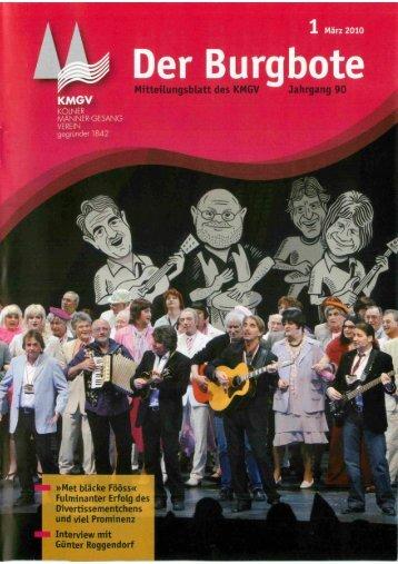 Der Burgbote 2010 (Jahrgang 90)
