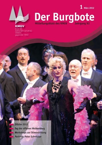Der Burgbote 2012 (Jahrgang 92)