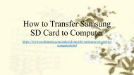 Simple Guide to Transfer Samsung SD Card to Computer