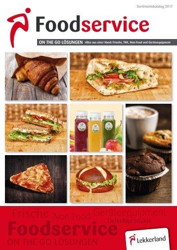 Lekkerland Foodservice Sortimentskatalog 2017