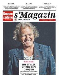 s'Magazin usm Ländle, 4. März 2018