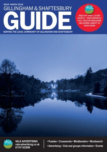 Gillingham & Shaftesbury Guide March 2018