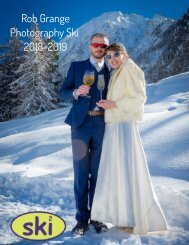 Rob Grange Photography Ski Brochure 2018 2019