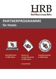 HRB - Partnerprogramme für Hotels -alt