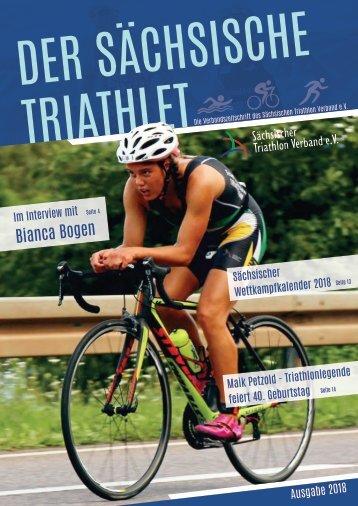 Zeitschrift Sächsischer Triathlon Verband Ausgabe 2018