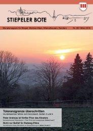 Stiepeler Bote 261 – März 2018