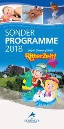 IFA Schöneck Arrangements 2018