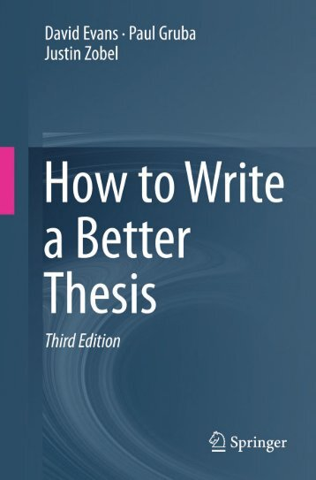 01-How-to-Write-a-Better-Thesis-Springer-International-Publishing-2014