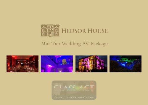 Hedsor House Mid-Tier AV Package