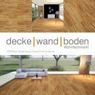 dwb Produktinformation PrintCork Boden FineLine Buche
