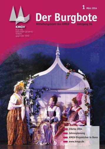 Der Burgbote 2014 (Jahrgang 94)