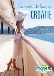 Croisières de luxe en Croatie