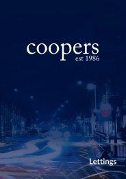 Coopers Lettings Brochure