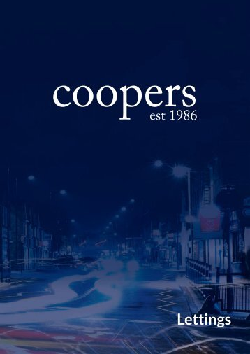 Coopers Lettings Brochure