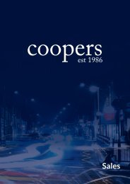 Coopers Sales Brochure