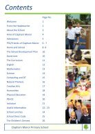 Clapham Manor Primary School Prospectus - Page 3